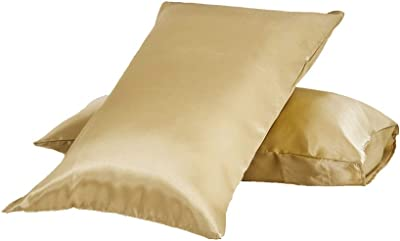 Amazon Com Bedsure Cooling Bamboo Pillowcases Set Of 2