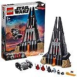 LEGO 75251 Star Wars Castillo de Darth Vader, Juguete de construcción con 5 Figuritas, Castillo y Nave Espacial Caza Tie