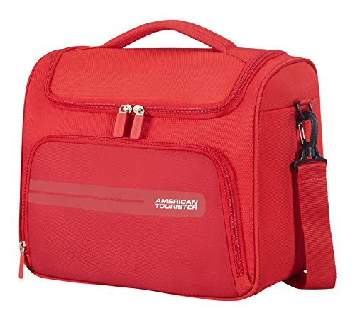 American Tourister Summer Voyager Beauty Case Da Viaggio, 32 cm, 15 litri, Ribbon Red