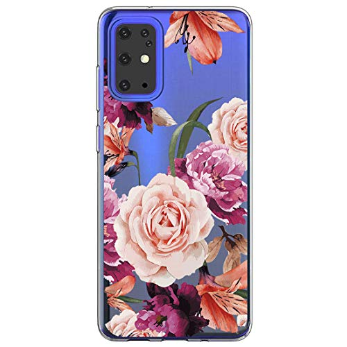 Zater telefoonhoesje compatibel met Samsung Galaxy S11E hoes,Galaxy S11E transparant TPU silicone beschermhoes Crystal Clear Transparant Kerstmis Case Cover voor Samsung Galaxy S27, D