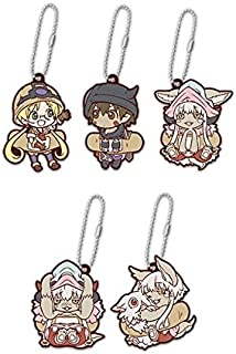 Stand Stones Made in Abyss Character Plaster Rubber Mascot Set