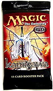 Magic the Gathering Card Game Champions of Kamigawa Booster Pack
