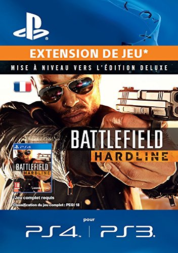 Battlefield: Hardline Deluxe-Upgrade [Extension de Jeu][Code Jeu PSN PS4, PS3 - Compte français]