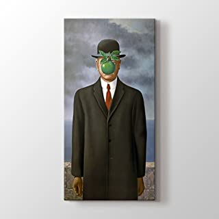PlusCanvas - The Son of Man - Rene Magritte - 30 x 60cm (12