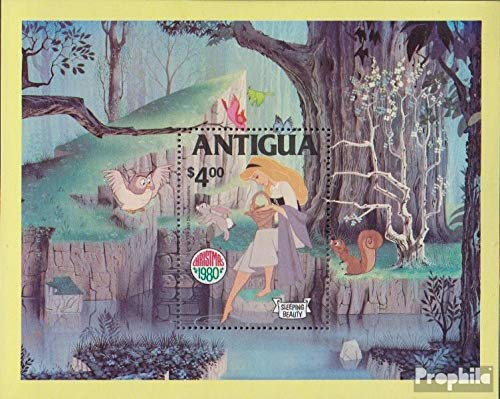 Prophila Collection Antigua Michel.-No..: block52 (Completa.edición.) 1980 Walt Disn.s la Bella Durmiente (Sellos para los coleccionistas) historietas