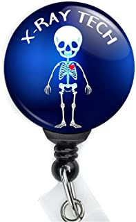 X-ray Tech Retractable Badge Reel with Swing Clip and 36 Inch Cord