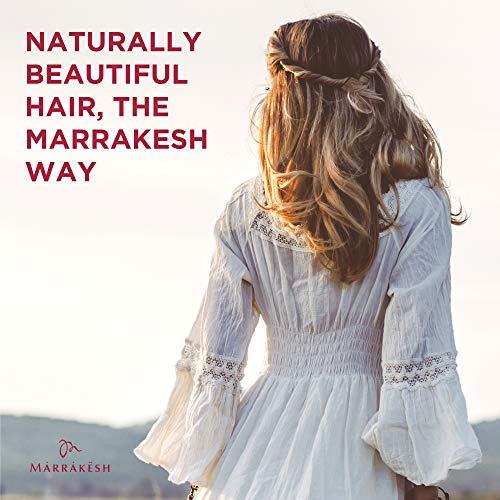 Marrakesh Oil, Original - 2 fl. oz. - Morrocan Argan Oil, Hemp Seed Oil - Moisturize & Nourish Hair, Control Frizz, Increase Smoothness - Vegan & Cruelty-Free