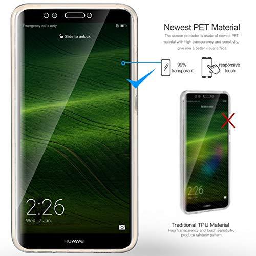 AROYI Huawei Y7 2018 /Honor 7C/ Y7 Prime 2018 Hülle 360 Grad Handyhülle, Silikon Crystal Full Cover [ PC Zurück + TPU Vorderseite] Vorne und Hinten Schutzhülle für Huawei Y7 /Honor 7C/ Y7 Prime 2018 - 3