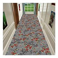 CnCnCn 通路 カーペット ランナー 柔らかい カスタムサイズ 入り口 玄関マット フロアマット エリアラグ リビングルーム 寝室 キッチン (Color : A, Size : 100x500cm)