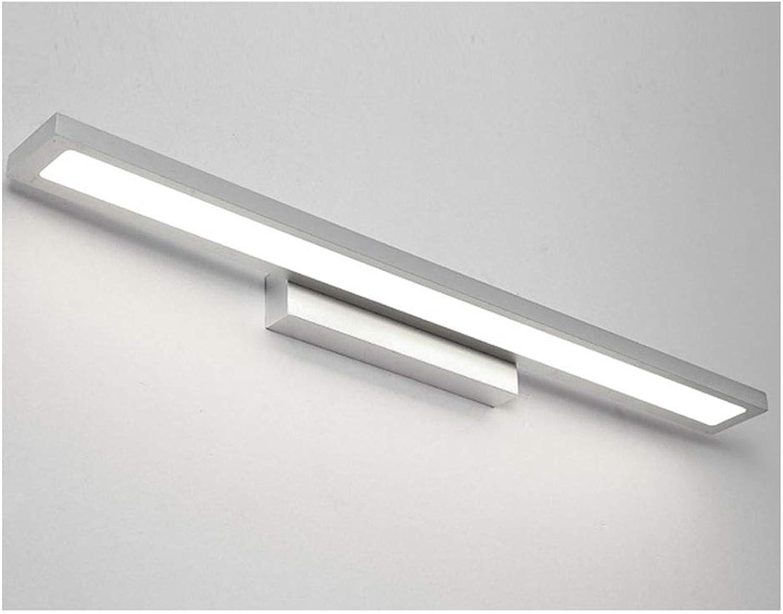 YU-H Lighting Nordic Badezimmerspiegellampe, Led Badezimmerspiegellampe Moderne Einfache Dressing Lampe Wasserdichte Wandleuchte (Farbe   Weies Licht-40cm)