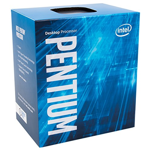Intel Pentium Dual Core 3.6 GHz CPU G4600 – nero