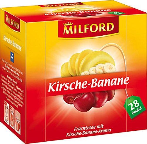 Milford Kirsche-Banane 28 x 2.25 g, 6er Pack (6 x 63 g)