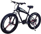 Bicicletas Eléctricas, 26 pulgadas de bicicletas de montaña eléctrica 4.0 Fat Tire Bike Nieve fuerte poder de 48V 10Ah litio Beach batería de la bici de doble freno de disco de bicicletas de la ciudad