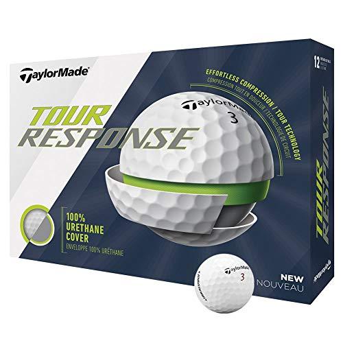 TaylorMade Tour Response Golf Ball, White, Dozen