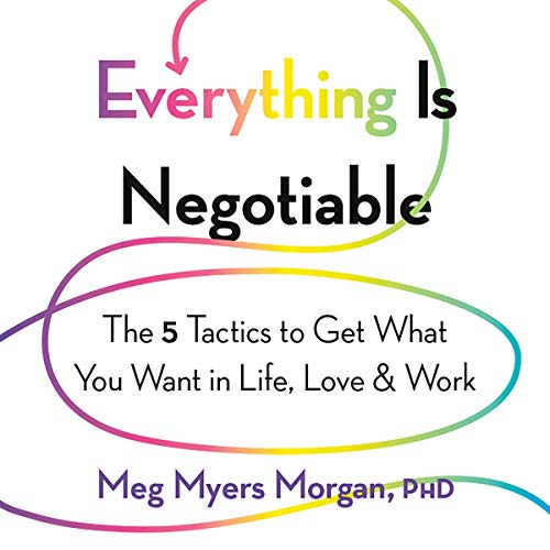 Everything Is Negotiable audiobook cover art