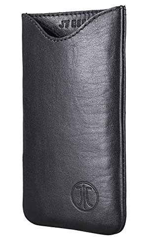 Cover in Pelle JT Berlin Style per iPhone 7 Plus - Nero