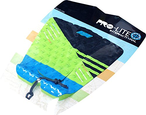 ProLite - Almohadillas para Surf (3 Unidades), Color Negro, Azul y Verde