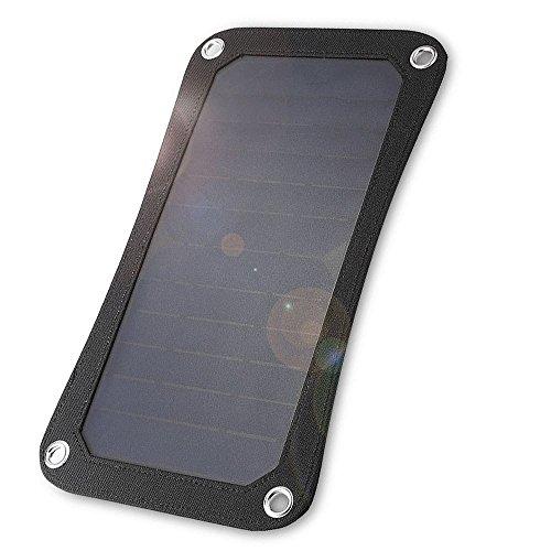 Panel solar de 7 W y 5 V para cargar teléfono, tablet, GPS, etc.