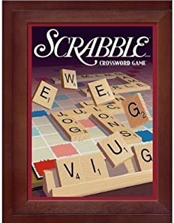 Parker Brothers Vintage Game Collection Exclusive Wooden Book Box Scrabble [Parallel Import Goods]
