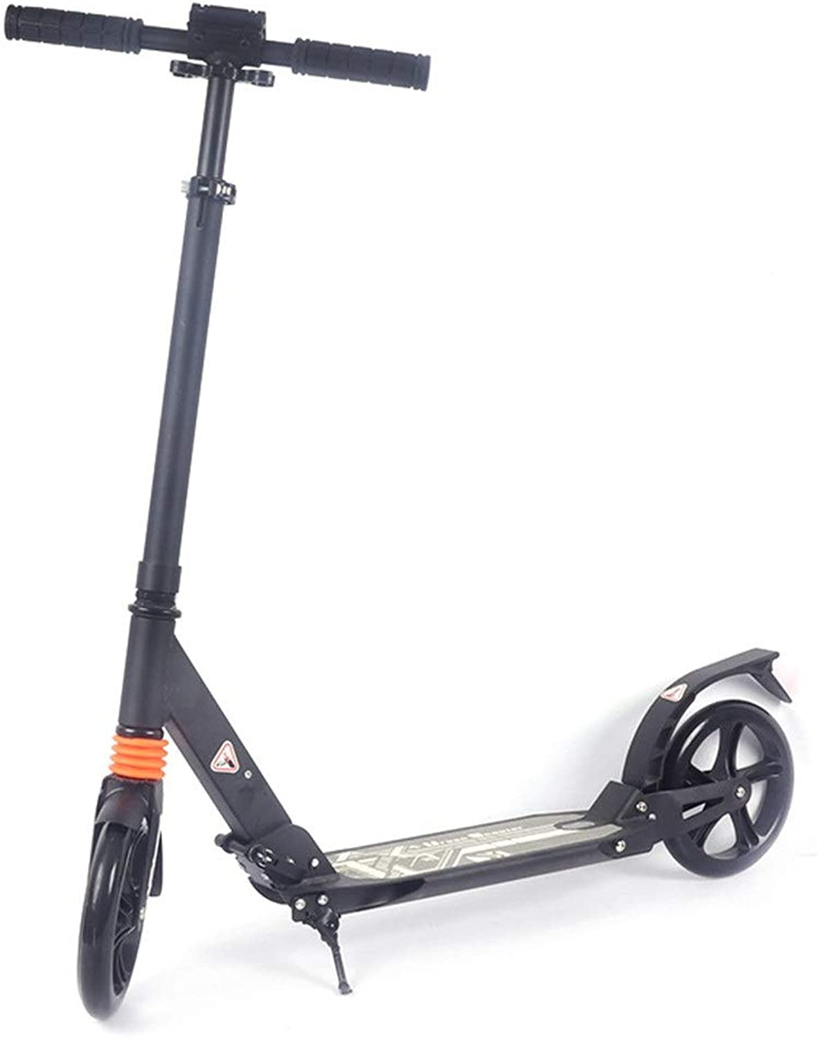 Adult Three-Speed Adjustable Folding Scooter City Scooter Two Rounds 200PU Wheel