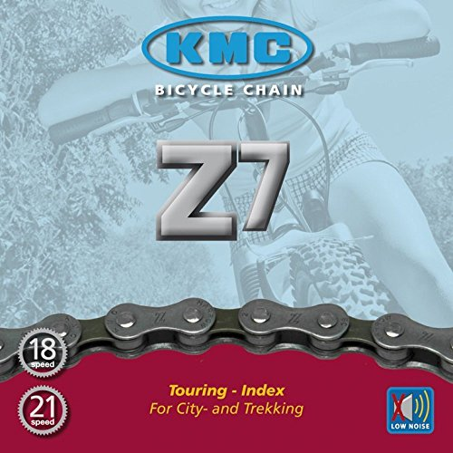 """KMC Fahrradkette Z-7 1/2"""" x 3/32"""" 116 Glieder, passend für Schaltsysteme bis 21 Gang"""