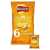 Walkers Arrosto Di Pollo Patatine 25g X 6 Per Confezione