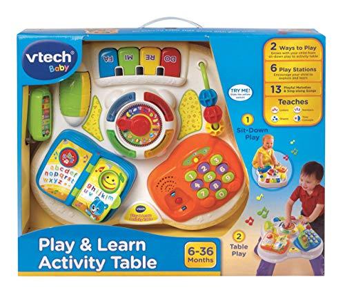 Table de Jeu VTech pour Bébé, Multicolore - Version Anglaise