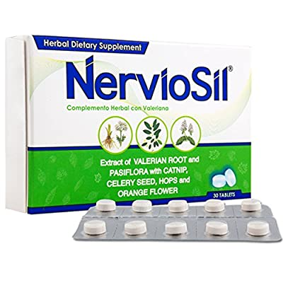 Nerviosil Herbal Supplement, 30 Tablets by OTC Labs