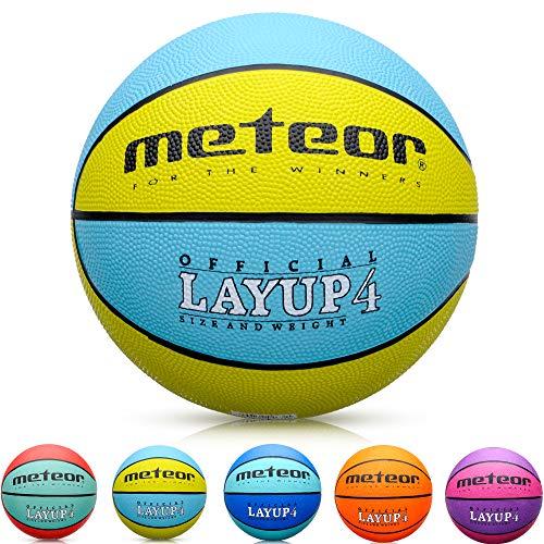 meteor Balón Baloncesto Talla 4 Pelota Basketball Bebe Ball