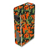 Decal Sticker Skin WRAP Orange & Green Camo Custom Art for Sigelei 150W