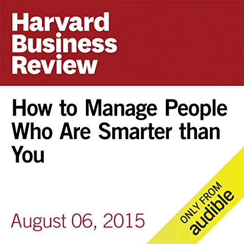 How to Manage People Who Are Smarter Than You copertina