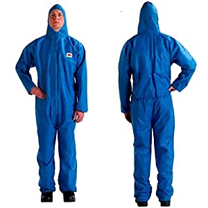 3M (4515-2XL-Blue) Disposable Protective Coverall Safety Work Wear 4515-2XL-Blue 20/Case