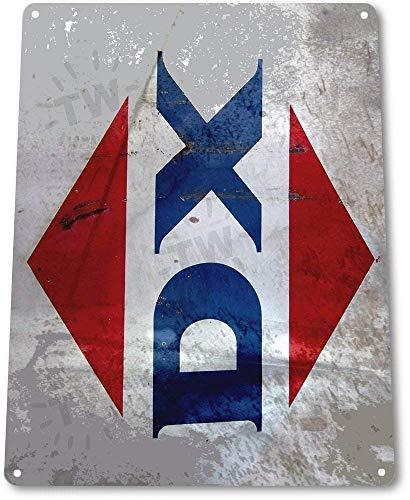 Tin Sign Sign B301 DX Motor Oil Gas Pump Garage Shop Station Rustic Metal Decor Tin Sign 8x12 Inch Metal Tin Sign Decor Iron Painting Designable Customization