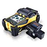 SKYSHL Core Alignment Touch Screen Mini Optical Fiber Fusion Splicer (With 4pairs Electrodes and Work Platform) Handheld SM MM DS NZDS Fiber Splicing Machine (SS412FM)