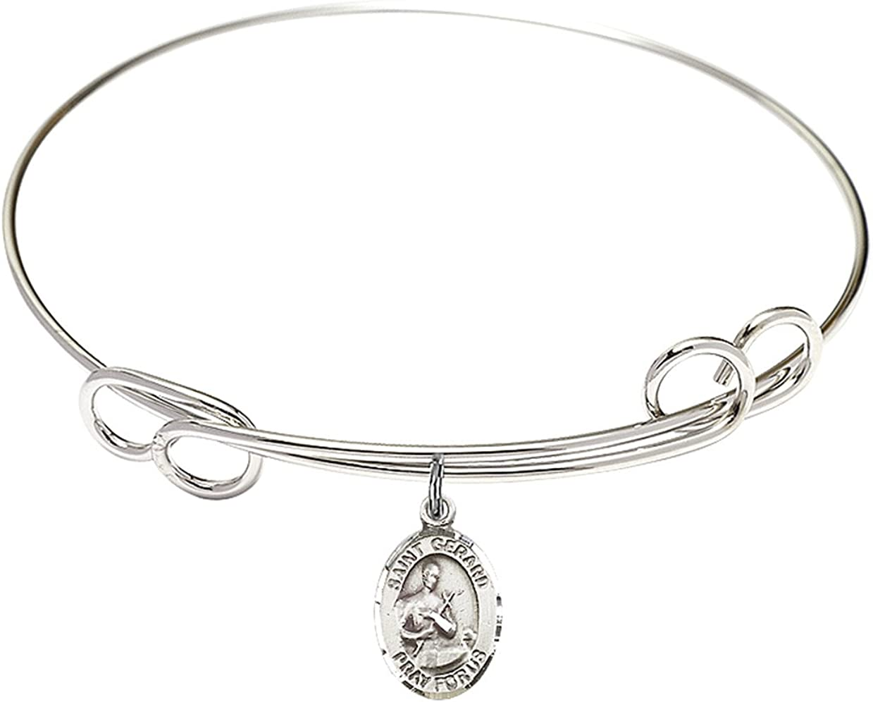 Bonyak Jewelry Round Double Loop Bangle Gerard w Ma St. Award-winning Nashville-Davidson Mall store Bracelet