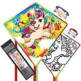 Mint's Colorful Life Unicornio dragón para niños, dragón de vuelo