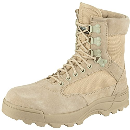 Brandit ZIPPER Tactical Boot camel Gr. 45 Art. 9017-70-45
