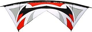 Hengda Kite Quad-line 7.9 Feet/2.4 Meter Stunt Kite with Dyneema Line + Quad Handle Package + Gauze Vent