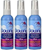 Downy Wrinkle Releaser, Travel Size, Cruise Accessories, Light Fresh Scent 3 fl oz - 3 Pack