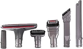 Oeyal Vacuum Attachments Replacement Brush Tools for Dyson V10 V8 V7 SV10 SV11 (6 in 1 Brush Kit)