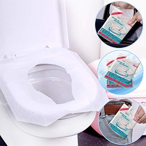 Groothandel 10 Stks/Pack Wegwerp Toilet Stoel Cover Mat Toiletpapier Pad voor Reizen Camping Badkamer Toegangsvoorwaarden Dropshipping