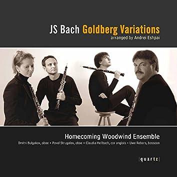 Bach: Goldberg Variations, BWV 988 (Arr. A. Eshpai for Woodwind Ensemble)