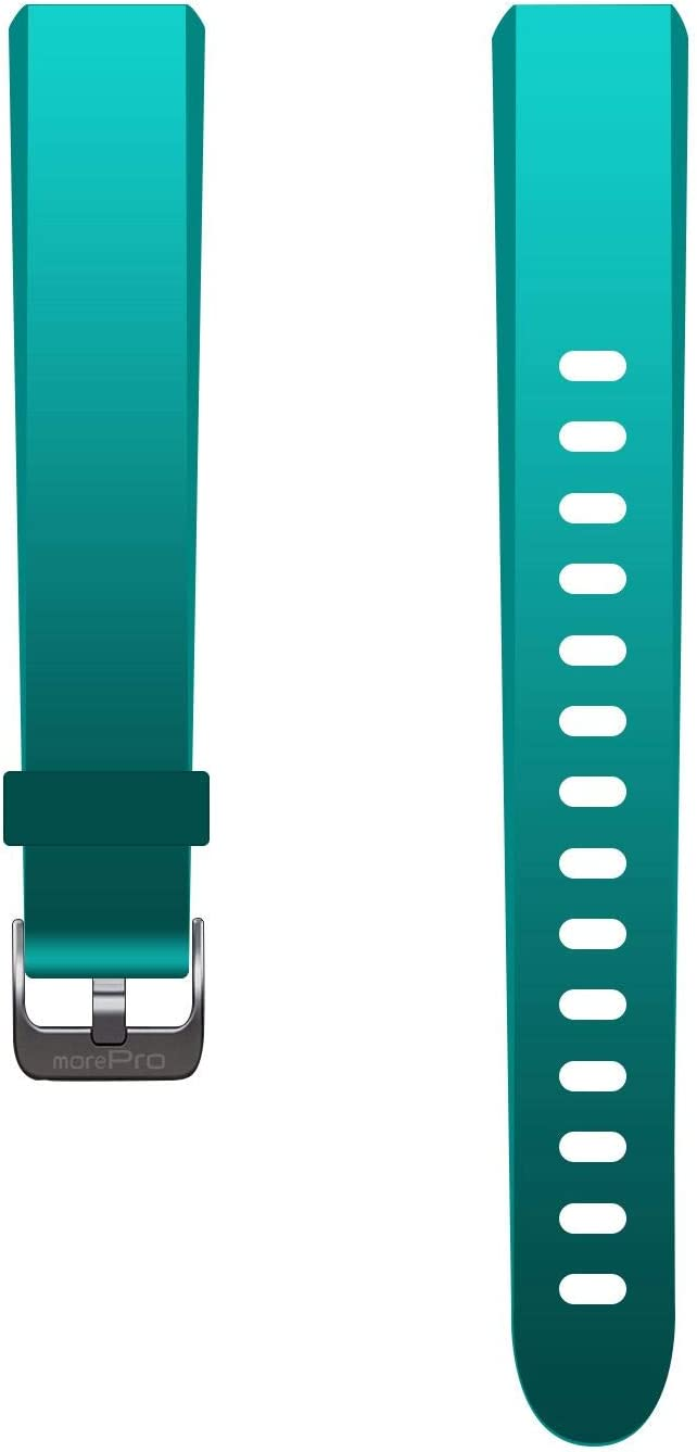 MorePro V10 Fitness Tracker Waterproof Activity Tracker Band, Adjustable Replacement Accessories Classic Sport Strap (Green)