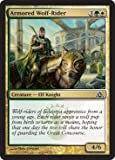 Magic The Gathering Armored Wolf-Rider Cavalcalupo Corazzato Dragon's Maze