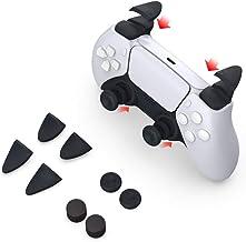 PS5コンソールゲームパッドトリガーボタン滑り止めロッカーキャップPS5L2R2ボタン+保護キャップ8-in-1セット