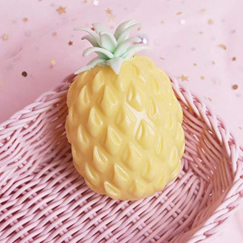 Ananas anti-stress druif bal grappige gadget ontluchting decompressie speelgoed voor kinderen stress knijp speelgoed autisme hand pols, geel
