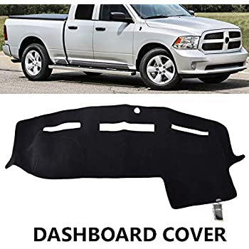 Dodge Ram Truck 2003-2005 Velour Dash Board Cover Mat Dark Brown
