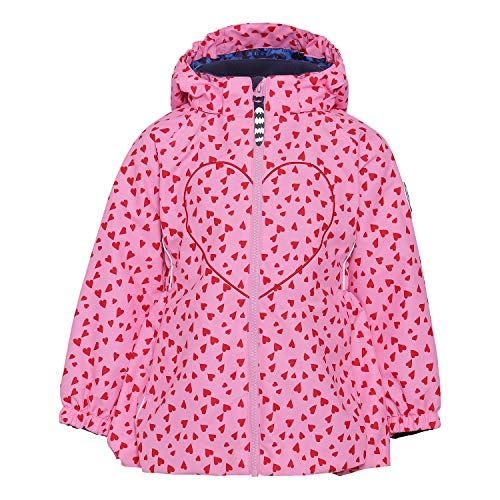 Racoon Girls Transition Transitional Jacket, Candy Heart, 140