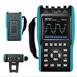 2 in 1 Handheld Digital Storage Oscilloscope Digital Multimeter Color Screen Scope DMM Meter 2...