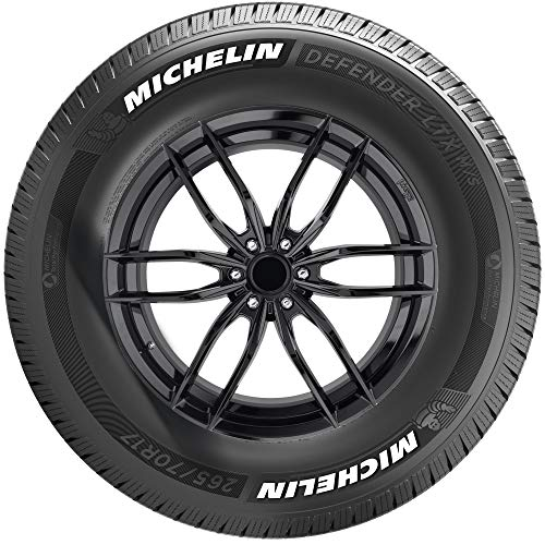 Michelin Defender LTX M/S Radial Tire WITH White Tire...
